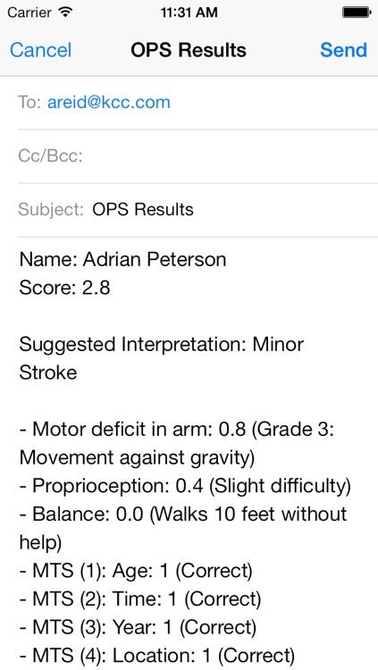 Orpington Prognostic Scale screenshot-3