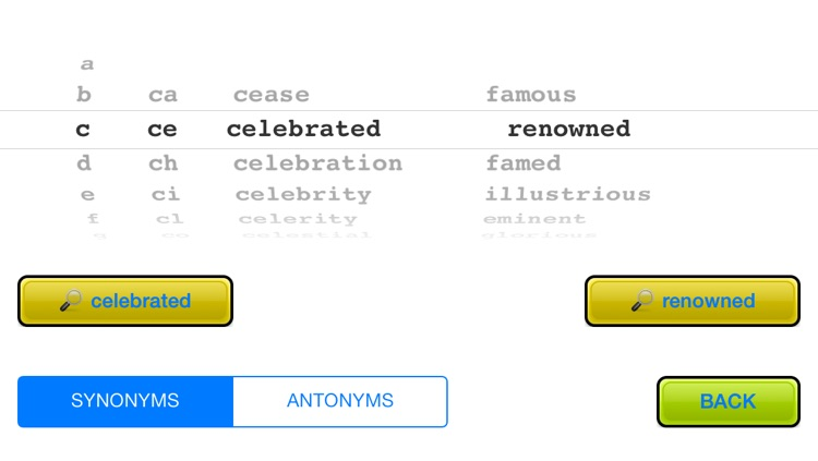 Word Wham - Synonyms And Antonyms