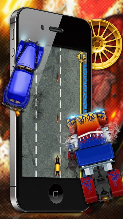 Angry Street Racers - A Free Car Racing Game screenshot-3