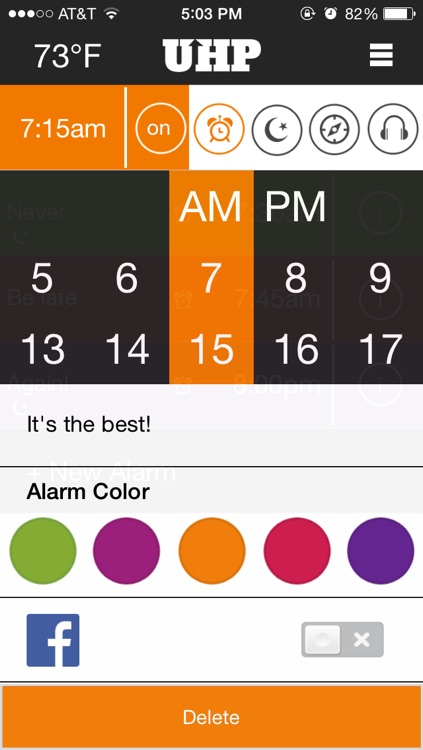 Uhp Alarm Clock Pro screenshot-3
