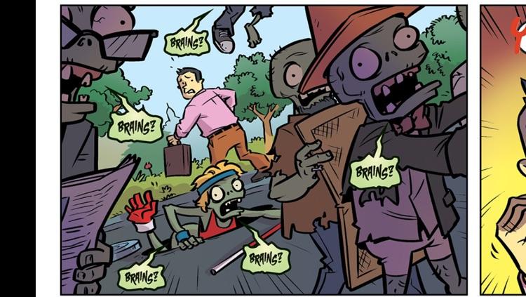 Plants vs Zombies Comics screenshot-4