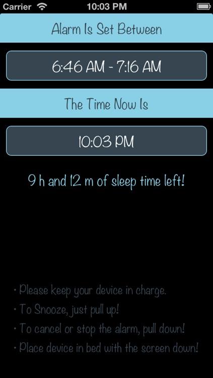 Sleep Time! Sleep Cycle Alarm screenshot-3
