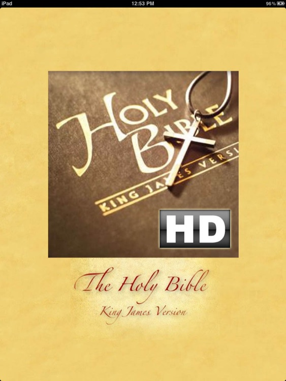 The Holy Bible King James Version HD