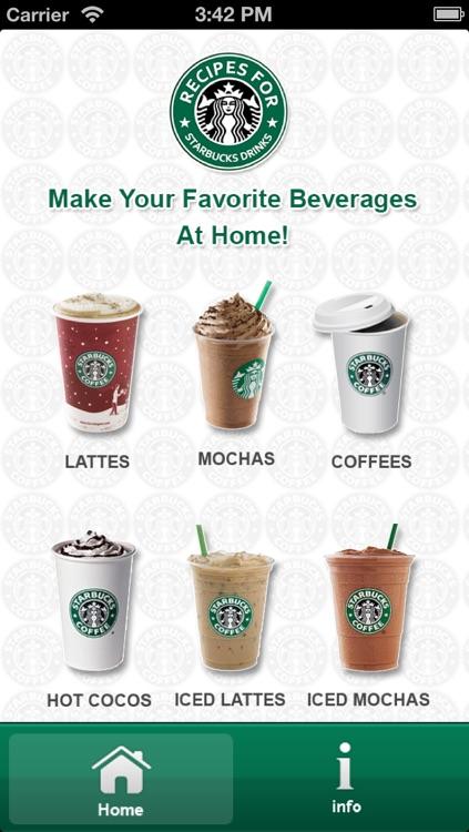 Recipe For Starbucks Drinks