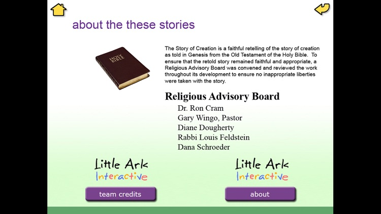 The Story of Creation - Little Ark Interactive storybook in English screenshot-3
