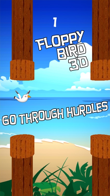 Floppy Bird 3D - infinity running birds in sky