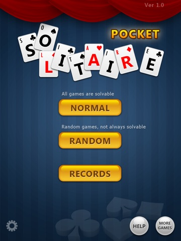 Screens1 For Pocket Solitaire Free