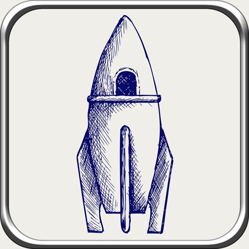 A Space Race Rocket Lite - Top Run Flight Game