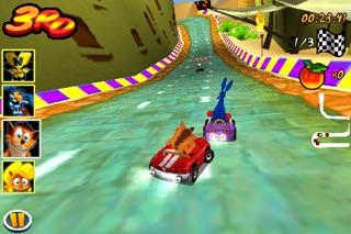 クラッシュバンディクーニトロカート3D screenshot1