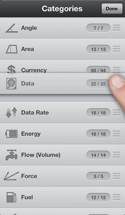 Converter Touch ~ Fastest Unit and Currency Converter screenshot-3