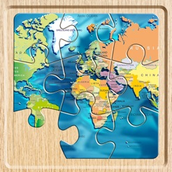 World map puzzle jigsaw on the app store world map puzzle jigsaw 4 gumiabroncs Images