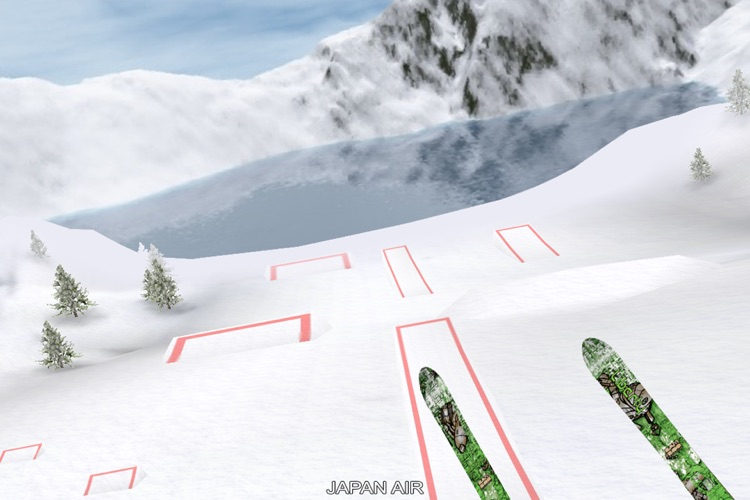 Touch Ski 3D - Presented by The Ski Channel screenshot-1