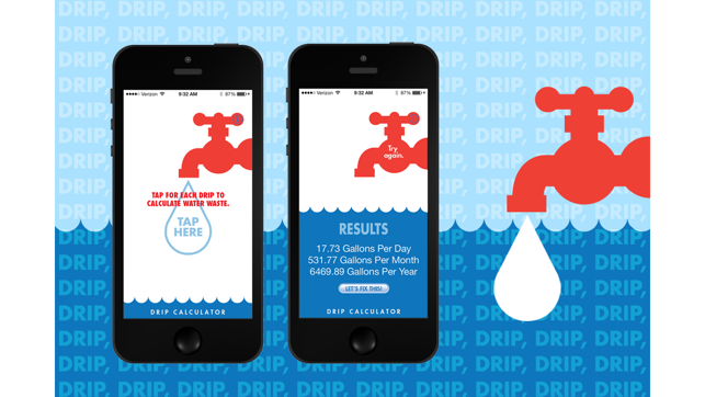 Leaky Faucet Drip Calculator on the App Store