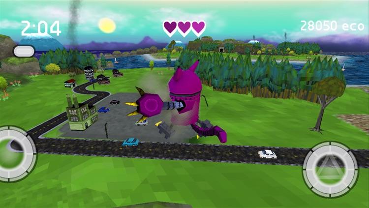 Robocat Rampage screenshot-4