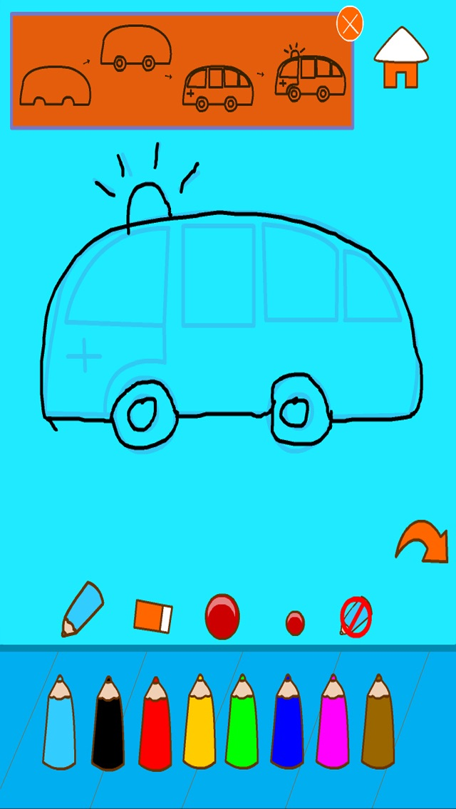 How to draw vehicles - learn to draw cars and vehicle shapes