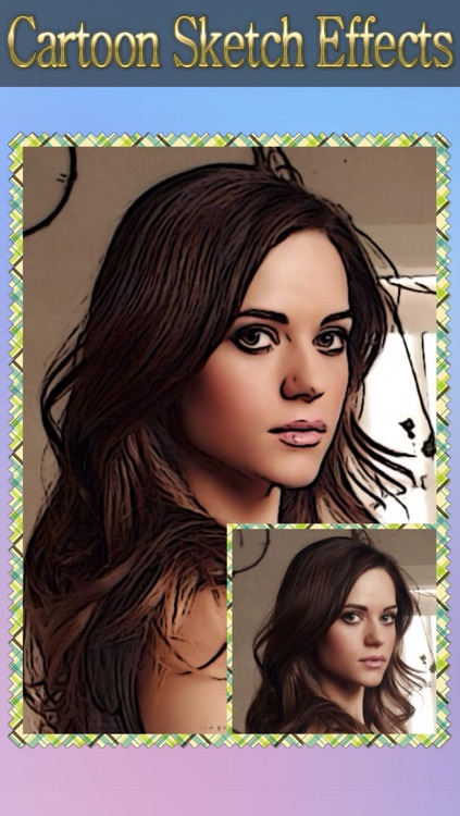 Cartoon Sketch Avatar Free - Pink Pencil & Coloring Toon Camera Photo Effects screenshot-4