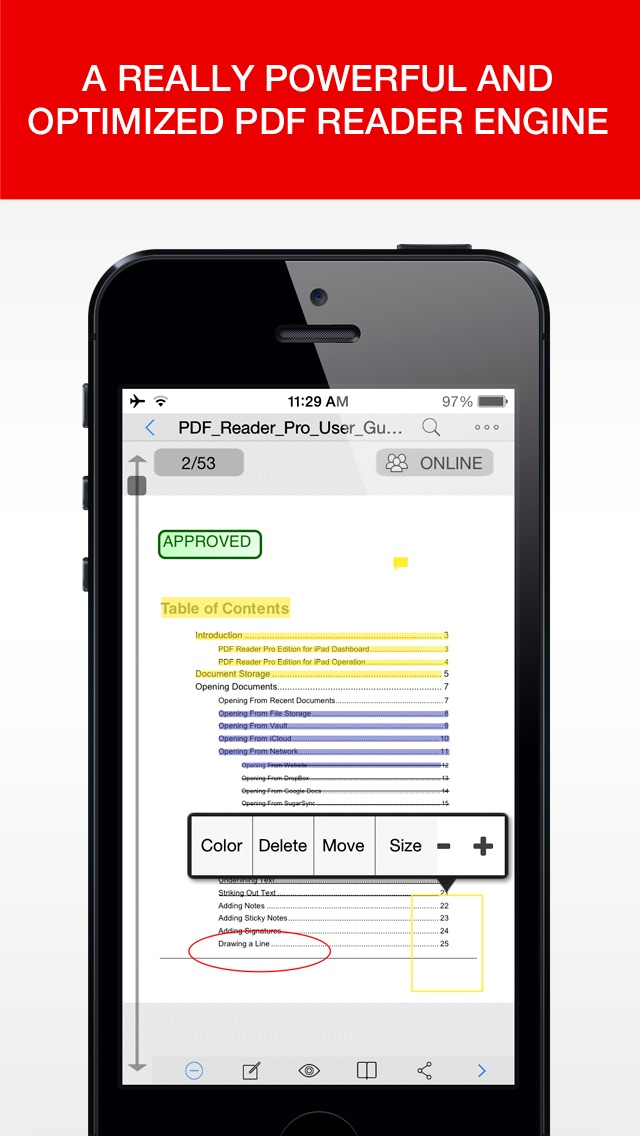 PDF Reader Pro Edition screenshot1