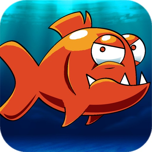 Mega Piranha Revenge Pro - Go chase and hook the hungry big piranha fish moving around the real sea world