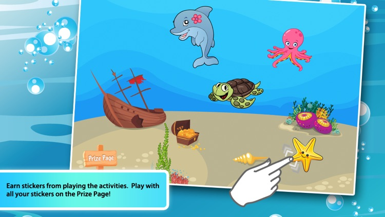 Toddlers First Words 3: Sea Animals Lite screenshot-4