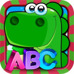 ABC Entretenido con Dino – Juego Educativo para Aprender las Letras del Abecedario Español o Castellano. Edición Premium Preescolar y Kinder.