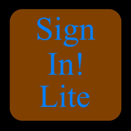 Sign-In Lite - Collect Attendee Information