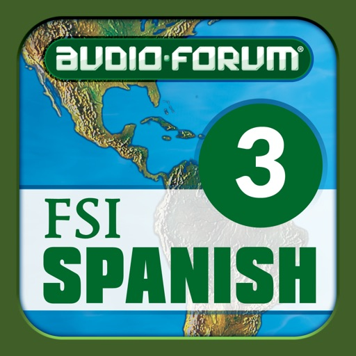 Spanish Basic Course Advanced A (Level 3) - by Audio-Forum / Foreign Service Institute icon