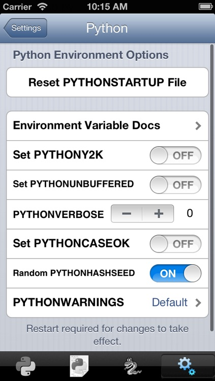 Python 3.2 for iOS screenshot-4