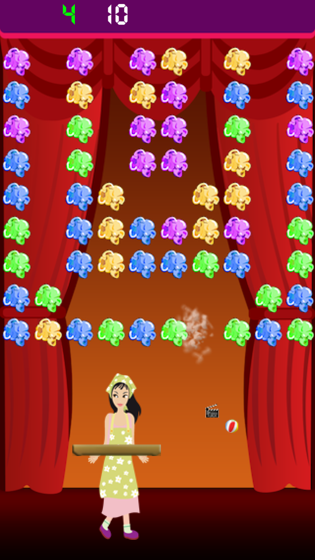 Pop little girl movie pop - the fun & colorful cinema theater