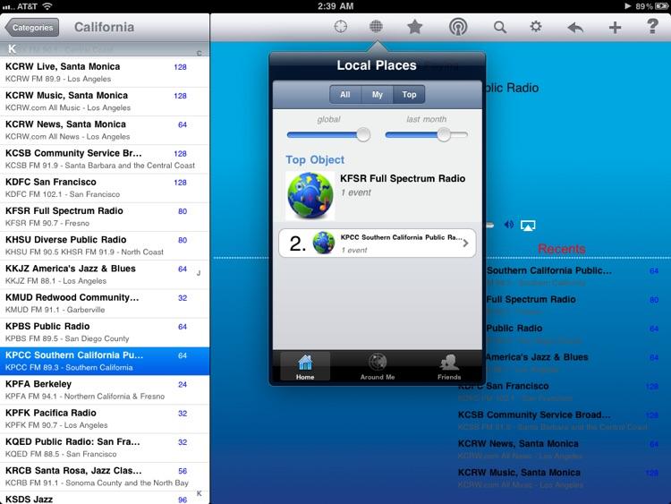 Public Radio - iPad Edition