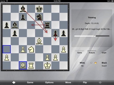 Screenshot #4 pour SmallFish Chess For iOS 6 - Free & Friends