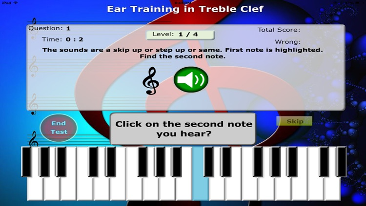 Notes for Piano: Sight reading and Ear training Free screenshot-3