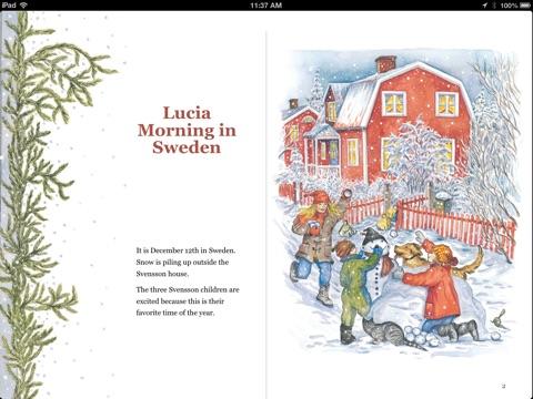 lucia morning in sweden