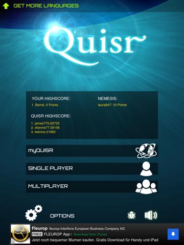 Quisr | 1-2 Player Quiz | App Price Drops