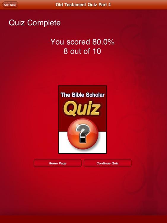 Bible Scholar Quiz Pro screenshot-3