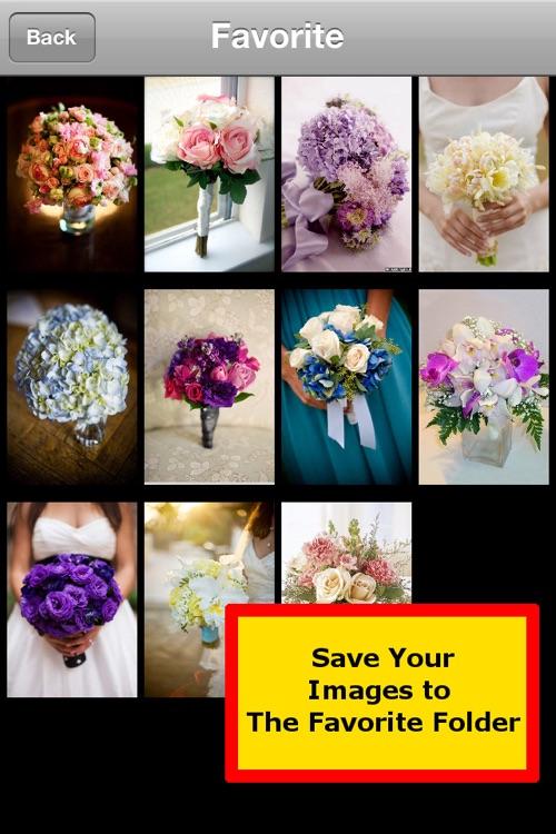 Wedding and Flower Bouquet screenshot-3