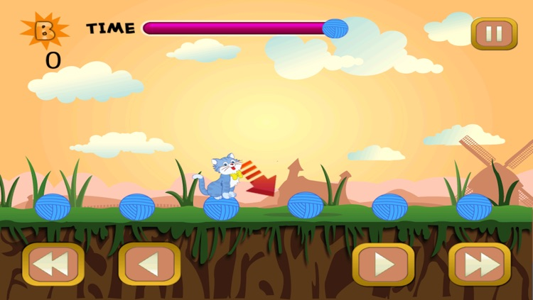 Cat Yarn Bouncing Mania - Kitty Ball Tap Jumping Adventure