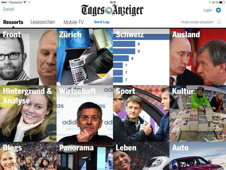 Tages-Anzeiger für iPad