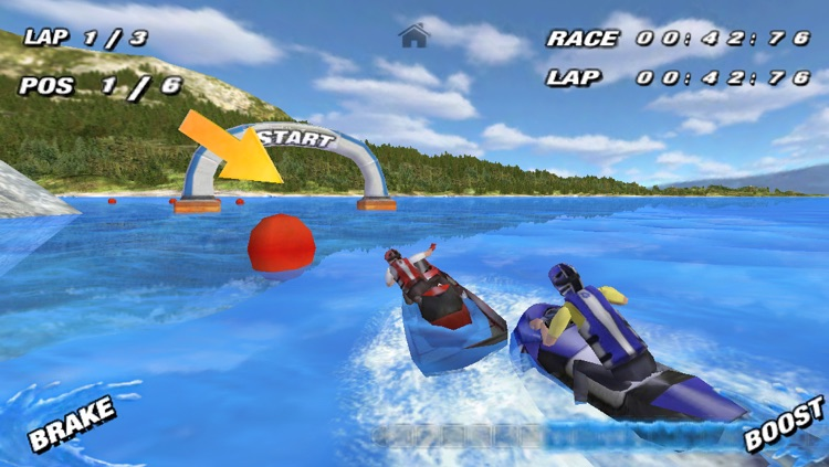Aqua Moto Racing screenshot-0