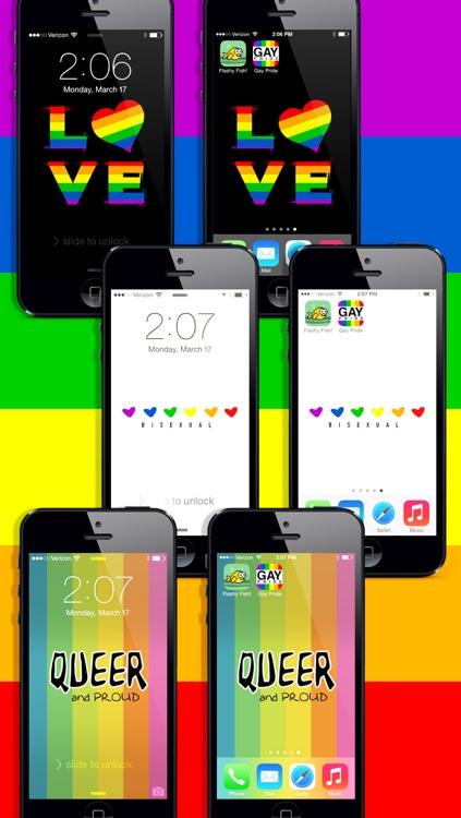 Gay Pride Wallpaper! LGBT Lesbian Gay Bisexual Transgender