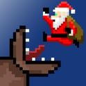 Super Mega Worm Vs Santa icon