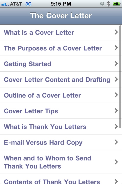 My Cover Letter screenshot-1