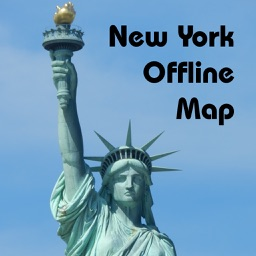 New York Offline Map - Address, Subway & Restaurant Finder