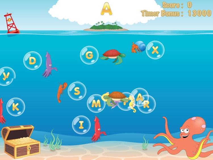 Bubble School: Letters, Numbers, Shapes, and Colors screenshot-3
