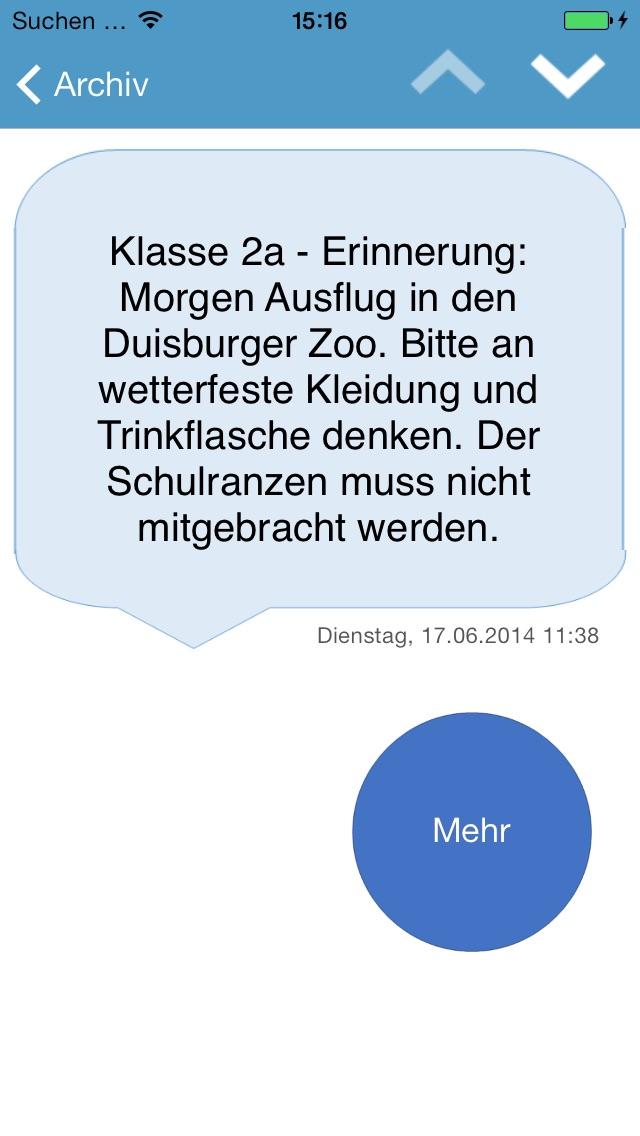 DirKS – professional messenger screenshot