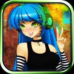 CreateShake: Manga Girl