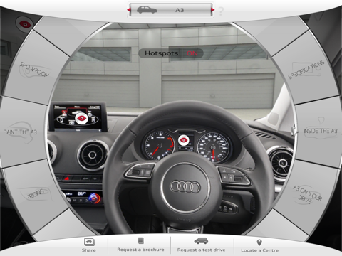 New Audi A3 screenshot four