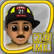 2BME Firefighter : Fun educational cartoon fireman, fire truck and fire safety game (child development for baby, toddler, preschool, kindergarten)