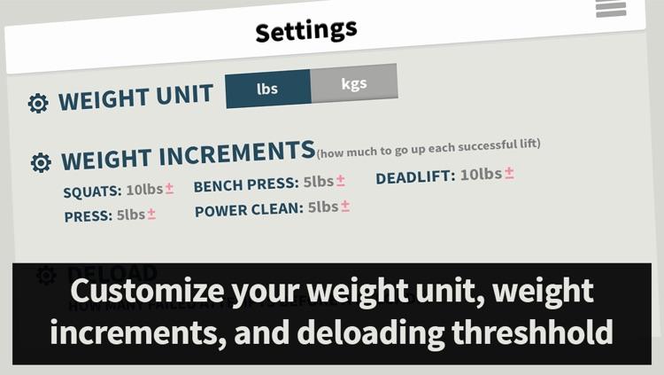 Strength Tracker: Program Tracking for Beginner Weight Lifting screenshot-4