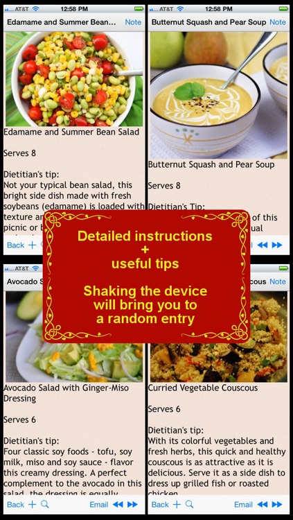 DASH Diet Recipes Plus+ screenshot-0