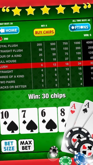 Video Poker Free Game: King of the Cards! for iPad and